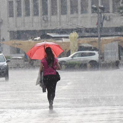 Jake kiše, grmljavina, grad: Upozorenje za teritoriju cele Srbije