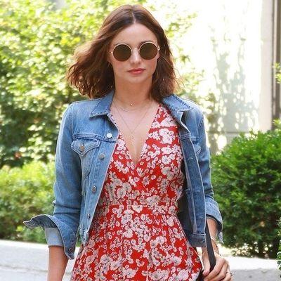 Ne morate da budete bogati i zgodni da biste izgledali ovako: Miranda Ker očarala modnim izborom!