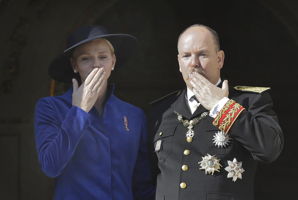 Princ Albert, Princeza Šarlin