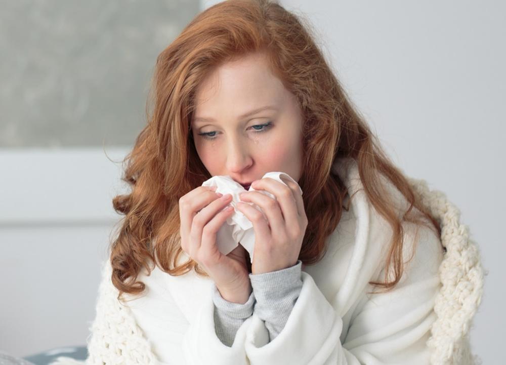Prehlada, Grip, Curenje nosa