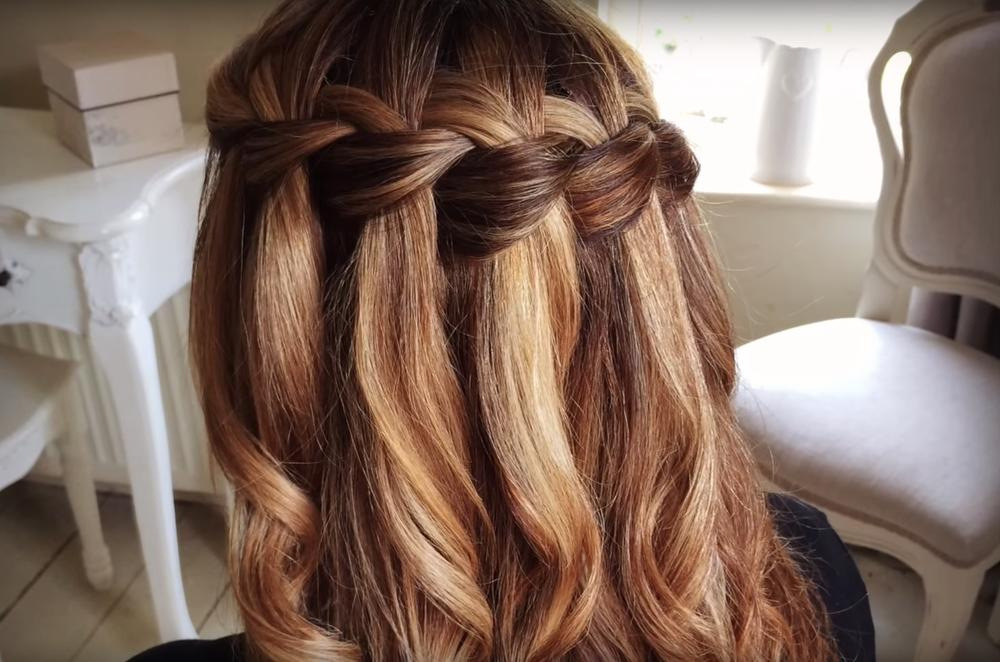 Make The Waterfall A Braid The Most Beautiful Spring Romantic