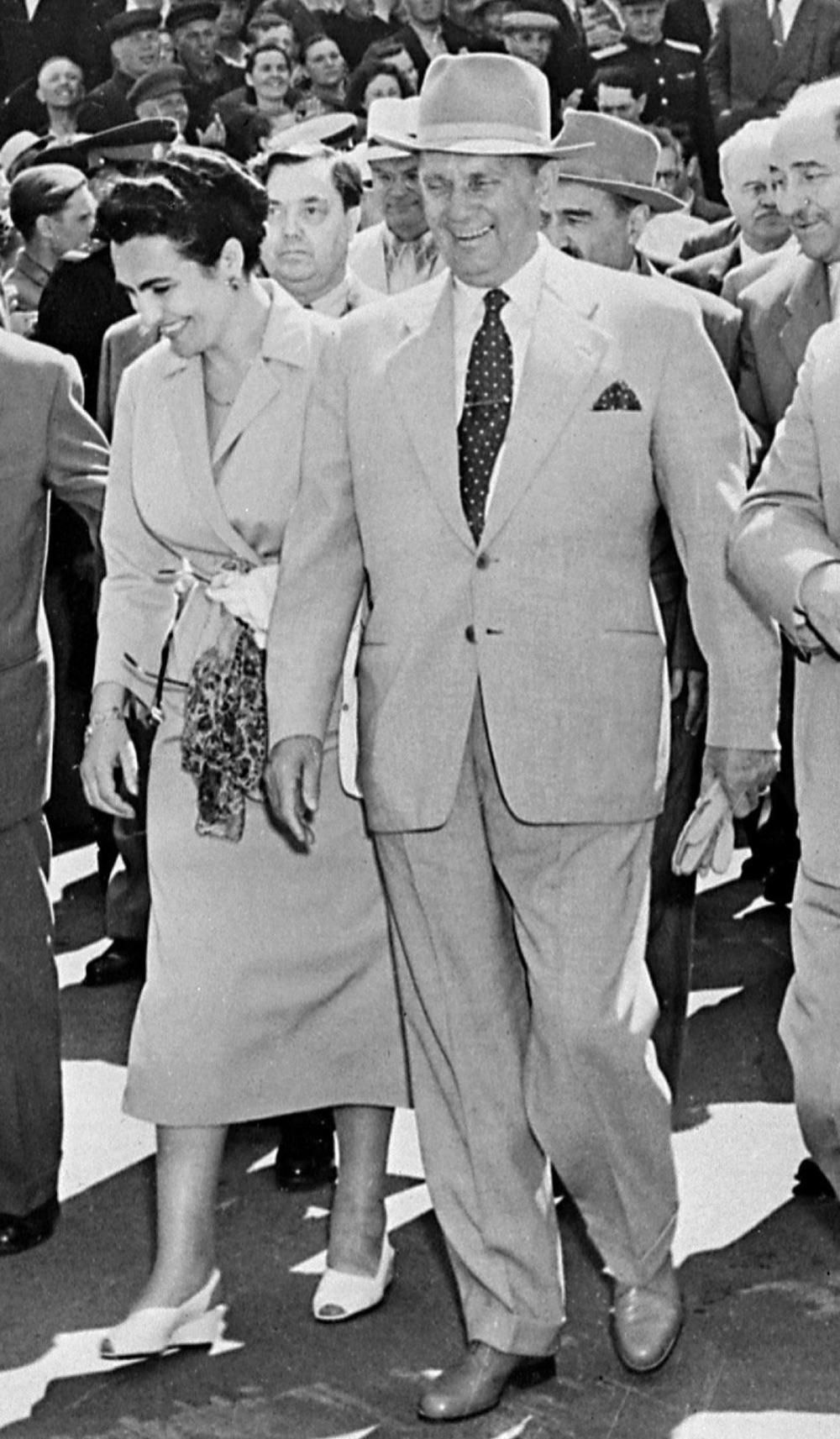 Jovanka Broz, Tito, Josip Broz Tito