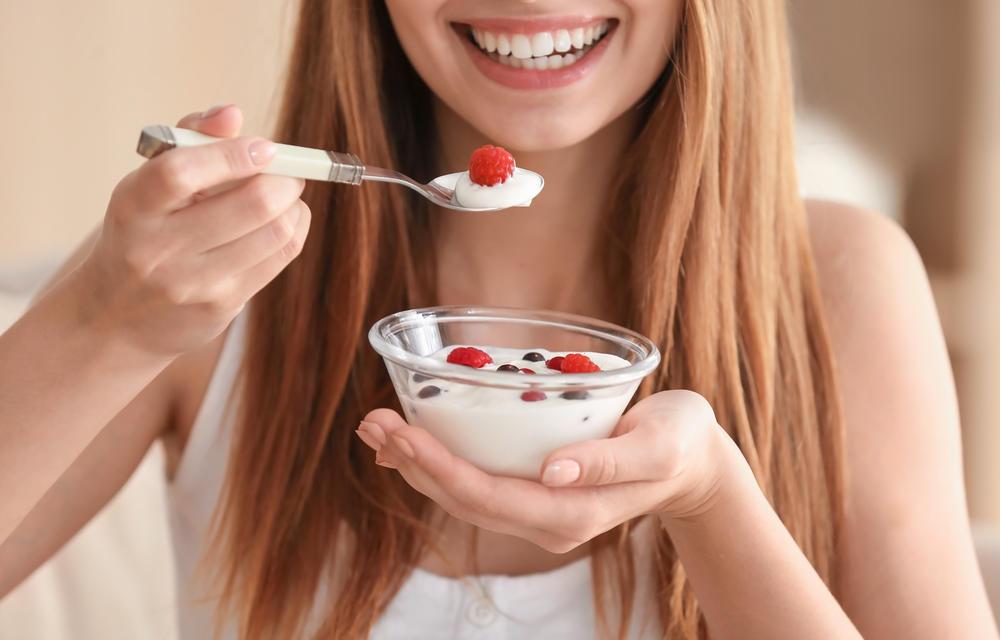 Jogurt, Dijeta, Žena, Devojka