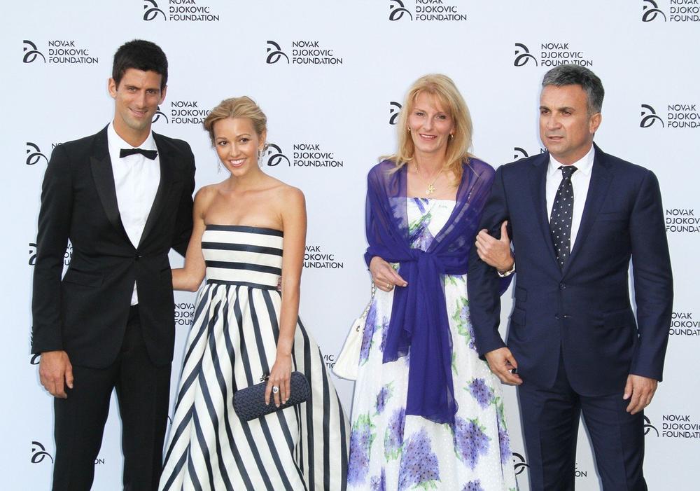 Srđan Đoković, Dijana Đoković, Novak Đoković, Jelena Đoković