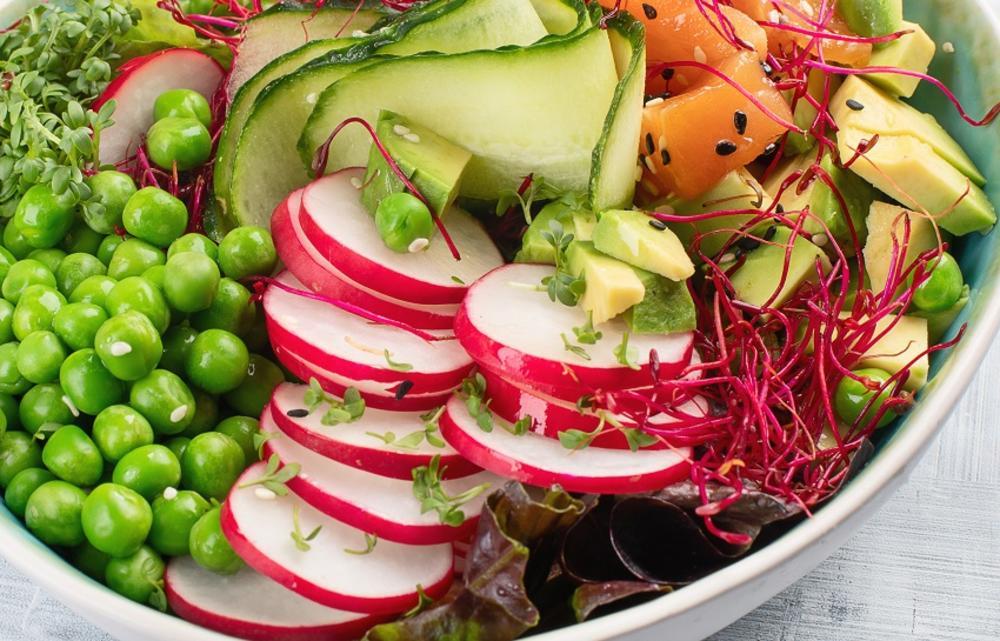 Rotkvice, Salata, Povrće, Krastavac, Krastavci