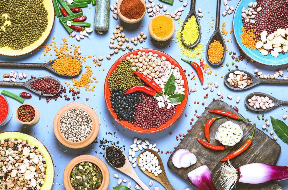 Zdrava hrana, Začini, Zdrave namirnice, Pasulj, Semenke, Orašasti plodovi, Čili papričice