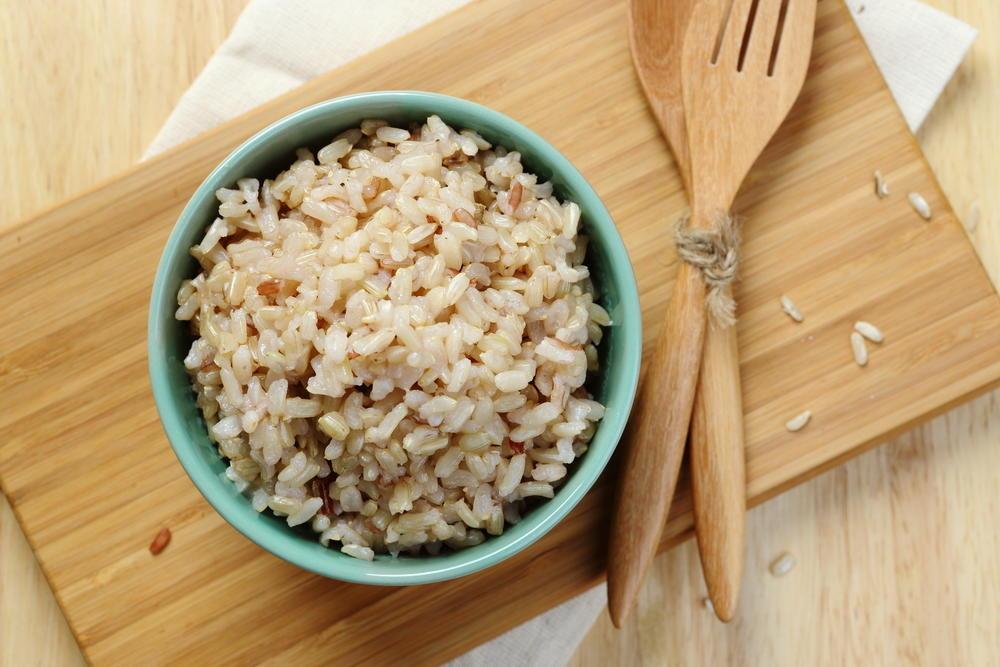 čišćenje tela pirinčem