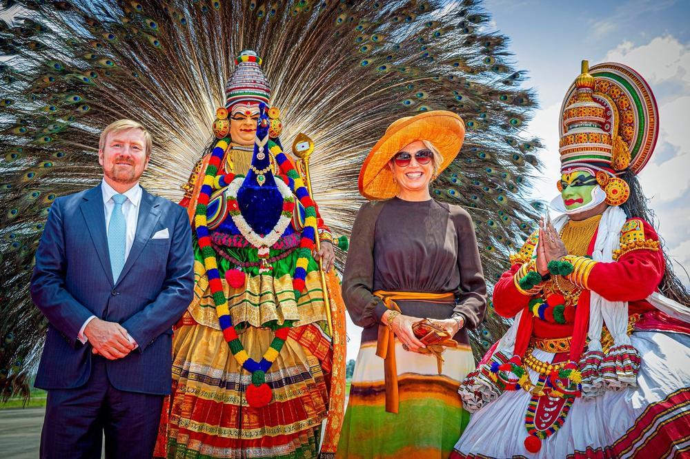 Kralj Vilem i kraljica Maksima stigli u Indiju: Nestvarne fotografije sa dočeka brzinom svetlosti obišle svet