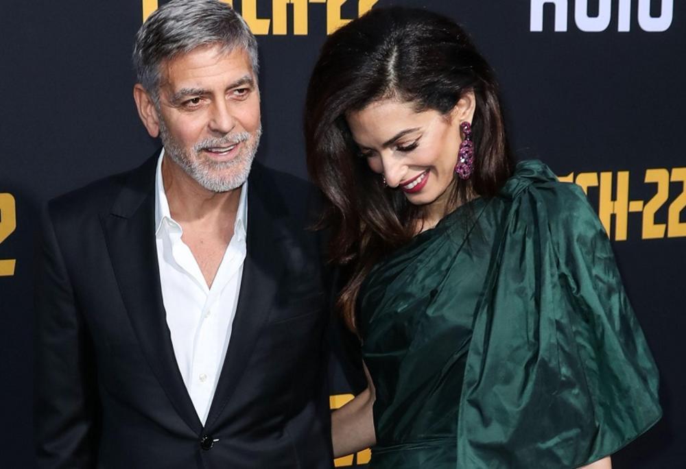 Džordž i Amal Kluni, Džordž Kluni, Amal Kluni
