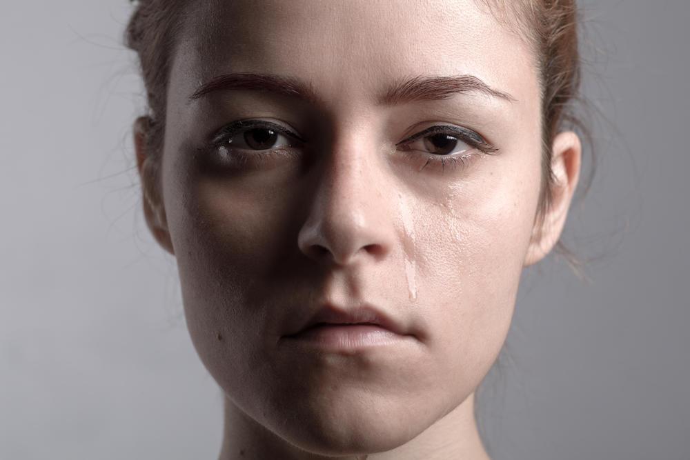 žena, devojka, suze, tužna žena