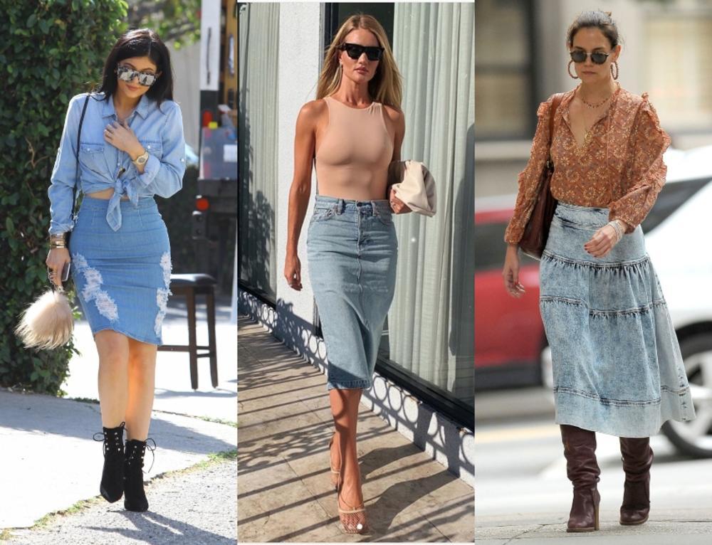 Svaka žena od stila mora da je ima u svom garderoberu: 10 načina da nosite teksas suknju ovog leta!