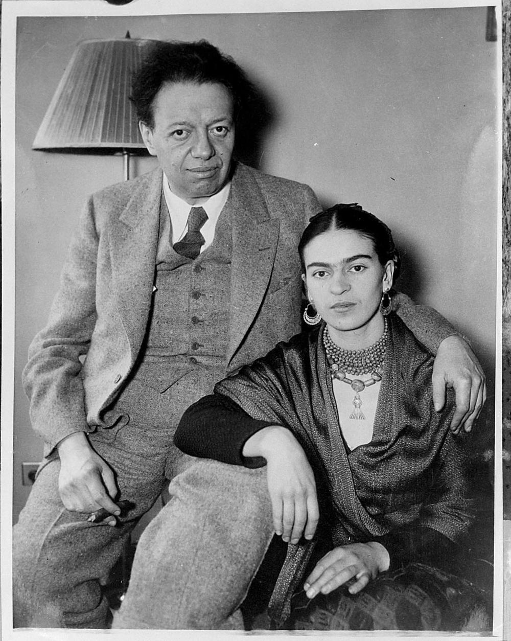 Frida i Dijego 1933. godine