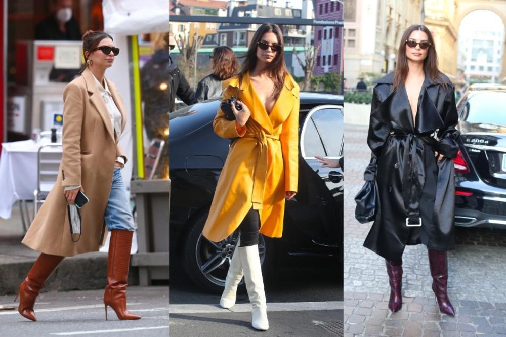 Emili Ratajkovski je tip top sređena u svakoj prilici: Odlične modne kombinacije koje ćete poželeti da iskopirate!