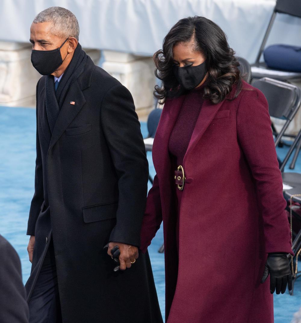 Mišel Obama, Mišel i Barak Obama