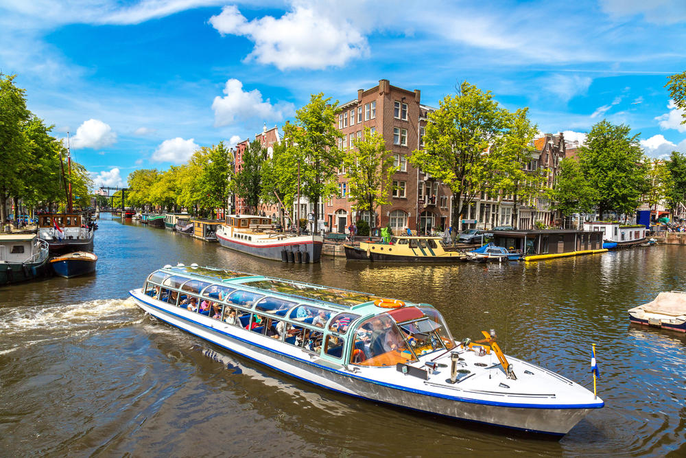 Amsterdam, Amsterdamski kanali