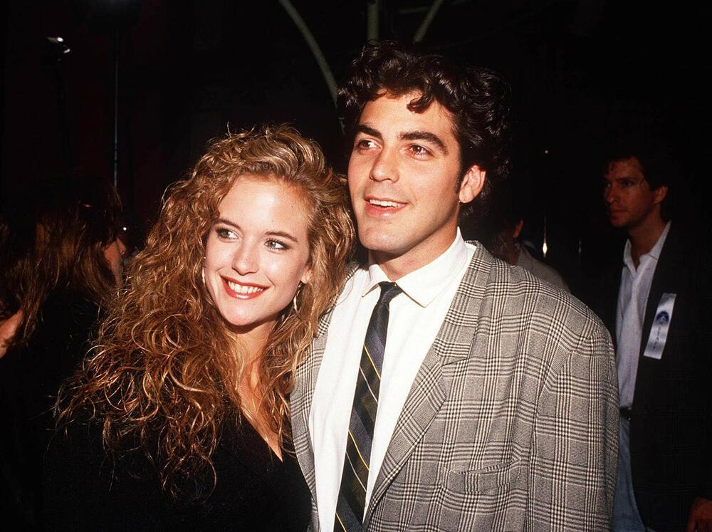 Džordž Kluni i Keli Preston, Džordž Kluni