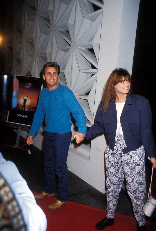 Demi Mur i Emilio Estevez