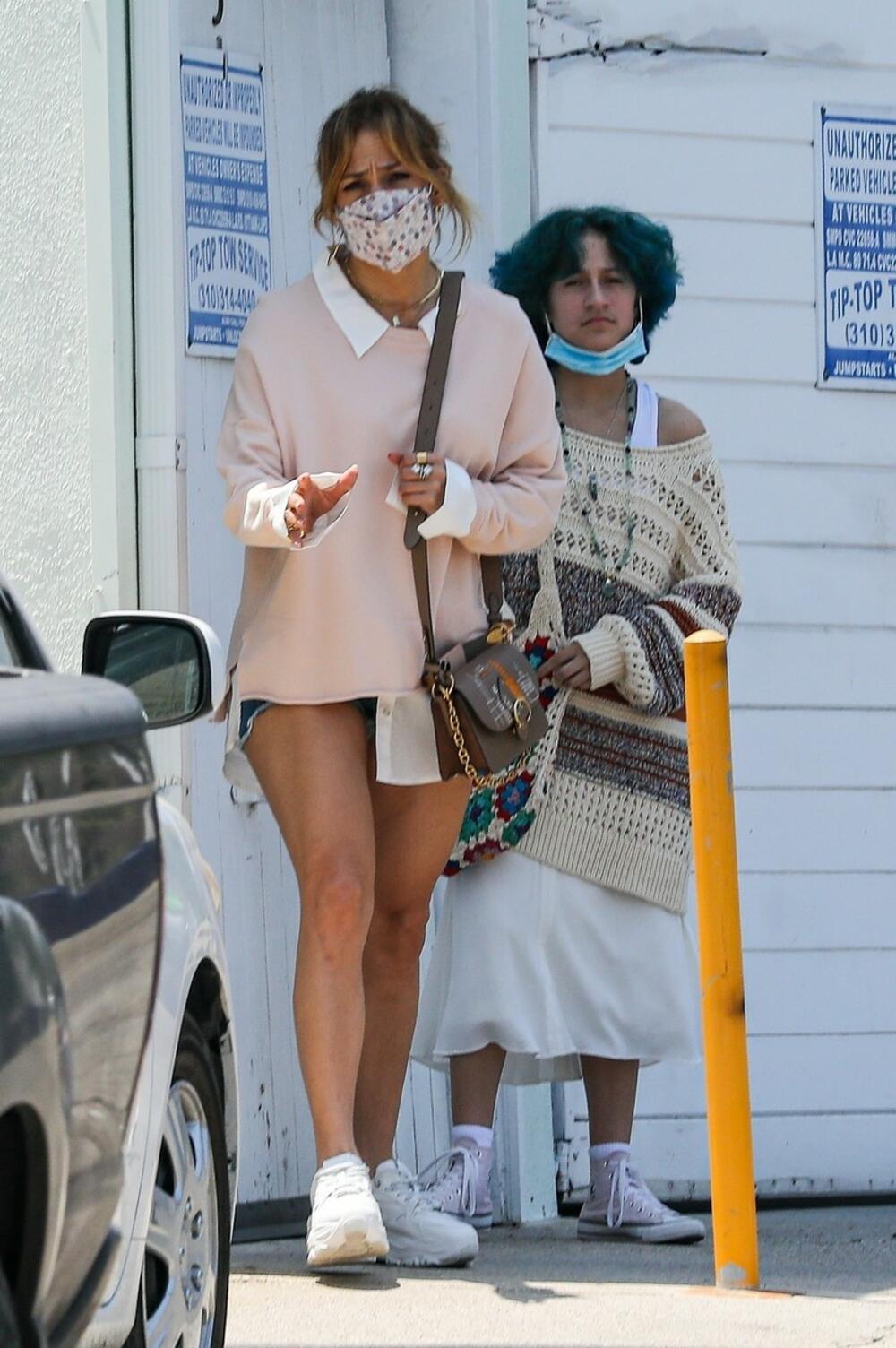 Djej Lo sa ćerkom Eme