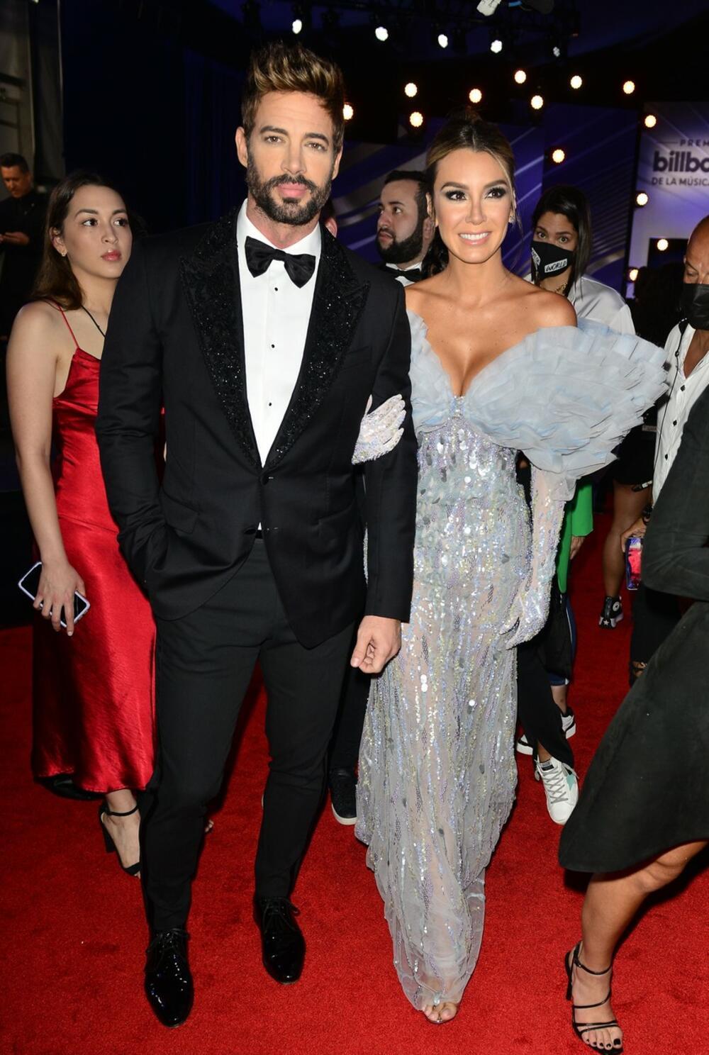 Vilijam Levi sa suprugom