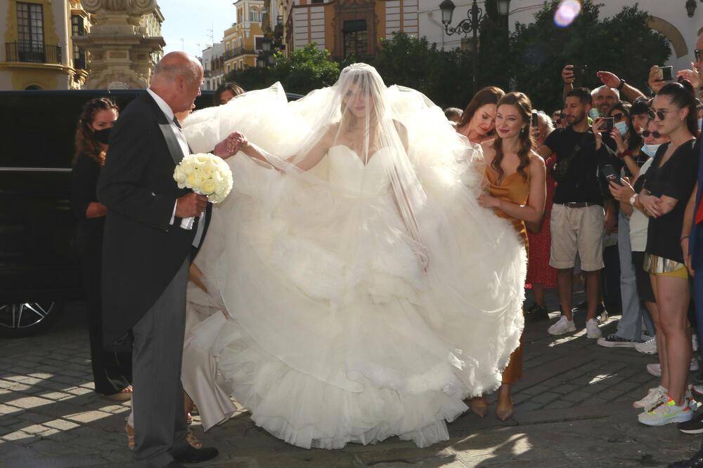 Francisko de Borbon venčanje